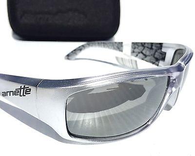 561a3fe59d NEW* Arnette SAWBUCK in SILVER Metallic Sport CHROME Iridium Sunglass 4154  $120