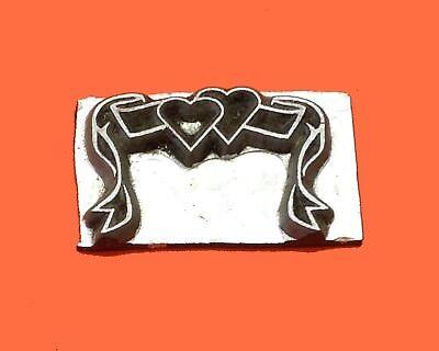 HOT FOIL PRINTING PLATE LETTERPRESS BLOCK Wedding Ribbon 30 x 20mm #215