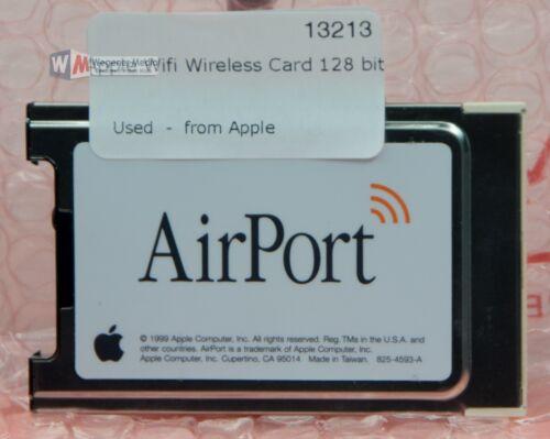 OEM Apple Powerbook 128 Bit Airport WiFi Card 825-4593-A Used