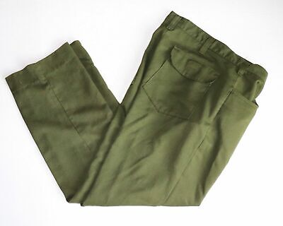 Fss Aramid Wildland Firefighter Pants Green Size 32x30 Made In Usa Vgc