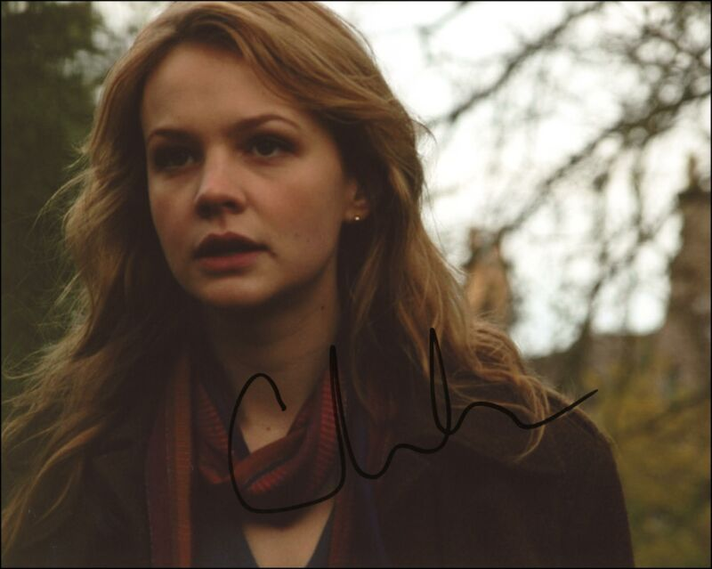 """Carey Mulligan """"Doctor Who"""" AUTOGRAPH Signed 'Sally Sparrow' 8x10 Photo"""