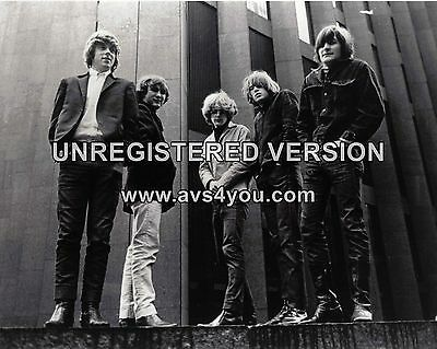 """The Byrds 10"""" x 8"""" Photograph no 4"""