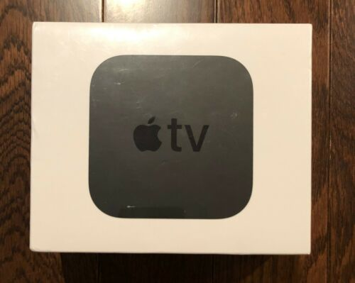 Apple TV 32GB 4K HD Media Streamer - Black (MQD22LL/A)