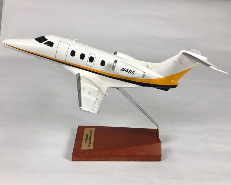 Bader Models Raytheon Beachcraft 300 Premier Airplane Mahogany Display Model