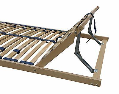 Federholzrahmen Lattenrost Bett 120x190 Kopfteil verstellbar 70.32-12-190 FV