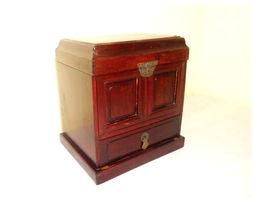Antique Chinese Ming Official Stationery Chest (2903), Circa 1800-1849