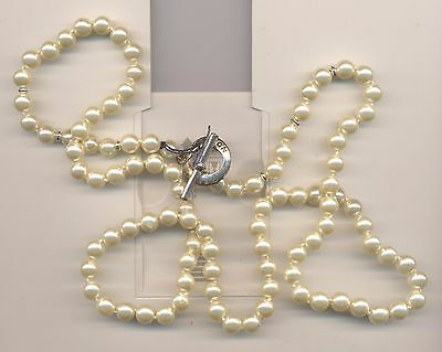 OROTON FAUX PEARL LONG  NECKLACE