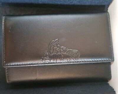 Authentic GIANNI VERSACE Classic Black 6 keyholder with Medusa - Made in Italy