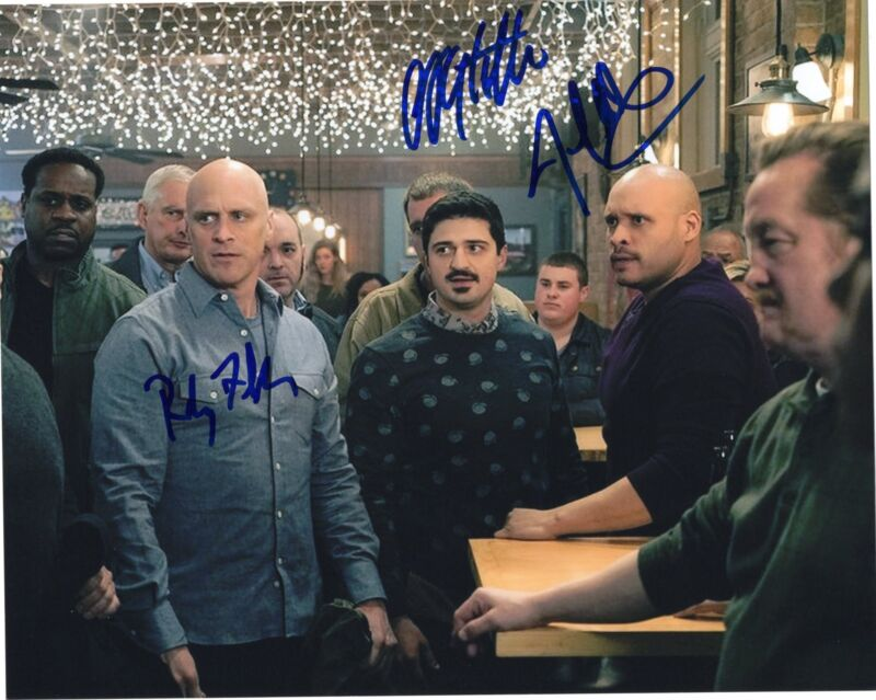 Randy Flagler Christian Stolte Marino signed 8x10 Photo w/COA Chicago P.D.