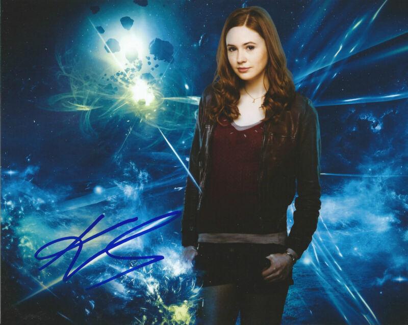 **GFA Doctor Who-Amy Pond *KAREN GILLAN* Signed 8x10 Photo MH2 PROOF COA**