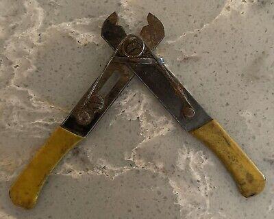 Vintage K. Miller Tool Co. Model 100 Wire Cutter 5 Industrial Hand Crimper