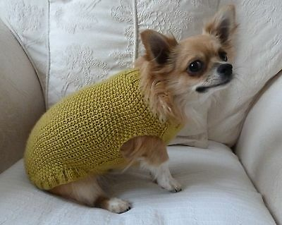 Tweedy knit dog jumper