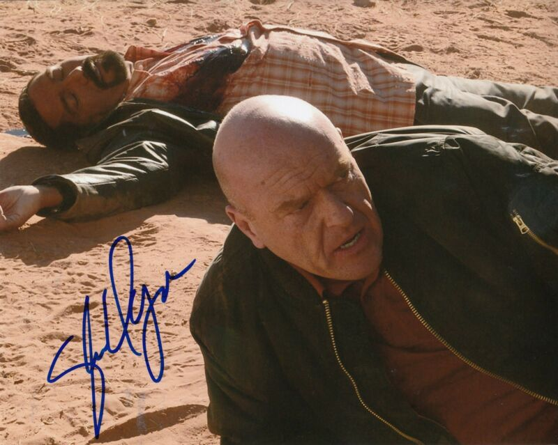 STEVEN MICHAEL QUEZADA signed *BREAKING BAD* 8X10 TV SHOW photo W/COA STEVEN #1