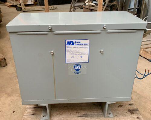 Acme transformer # T3533411S - Pri 480 / Sec 240/120 15Kva 3ph (101633)