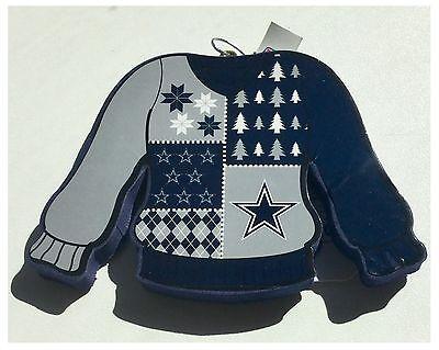Dallas Cowboys NFL American Football Christmas Tree Sweater Jumper - Dallas Cowboys Christmas Decorations