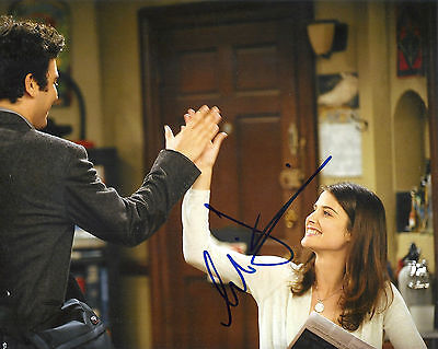 Cobie Smulders How I Met Your Mother Robin Signed 8X10 Picture  Coa 5