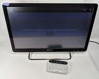 """Sony NSX-24GT1 Google Internet TV Television 24"""" 1080p with Remote"""