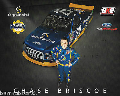 2017 Chase Briscoe  Cooper Standard 2Nd Version  29 Nascar Truck Series Postcard