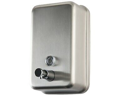 Commercial Soap Dispenser Wall Mount - Stainless Steel - New Superior Design