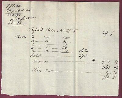 Early American Manuscript Document, East Haddam, Connecticut, February 15, 1799 for sale  Binghamton
