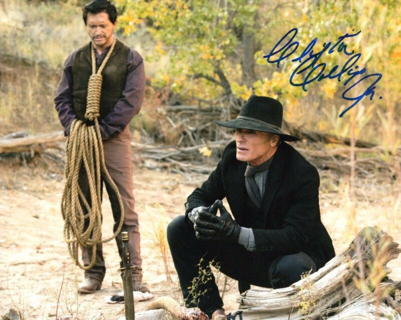 GFA Westworld * CLIFTON COLLINS JR * Signed 8x10 Photo PROOF C4 COA