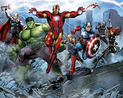 "Superhero canvas Wall Art 30""X20"""