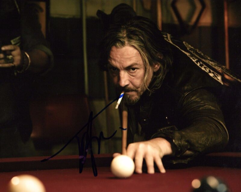 GFA Sons of Anarchy * TOMMY FLANAGAN * Signed Autograph 8x10 Photo PROOF T2 COA