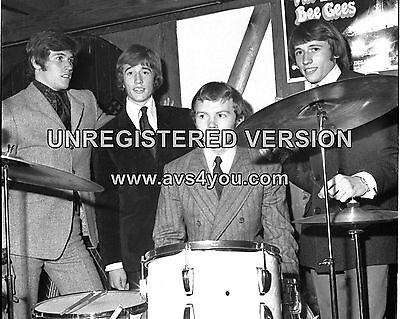 """Bee Gees 10"""" x 8"""" Photograph no 2"""