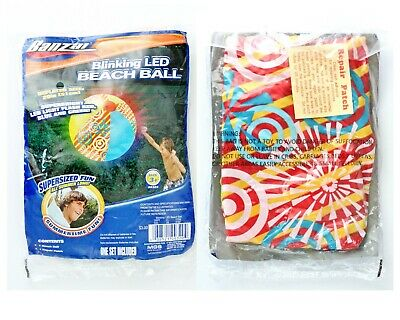 New BANZAI Blinking LED Beach Ball 20