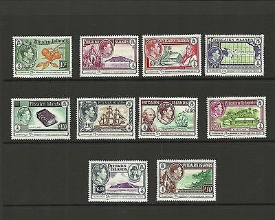 PITCAIRN ISLANDS 2015 75TH ANNIV OF FIRST POSTAGE STAMPS DEFINITIVE SET MNH