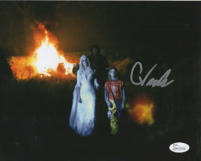 Chase Vanek Halloween 2 (Chase Wright Vanek Autograph 8x10 Photo Halloween 2 Signed JSA COA)