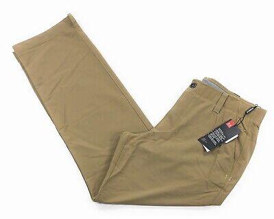 Under Armour UA Golf Match Play Pants Mens Straight Canvas Khaki