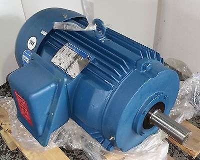 Century 15 Hp 1800 Rpm Tefc 200 Volts 254t 3 Phase Motor New Surplus