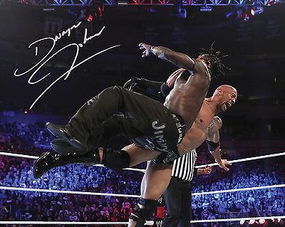 THE ROCK #2 (WWE) - 10X8 PRE PRINTED LAB QUALITY PHOTO PRINT