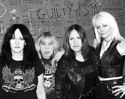 "Girlschool 10"" x 8"" Photograph no 2"