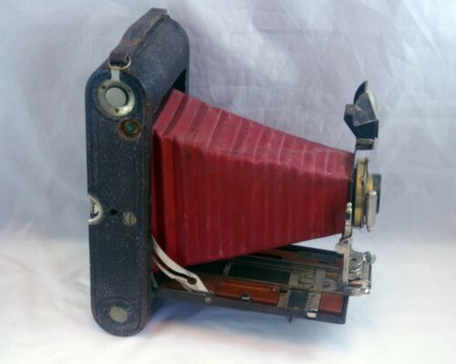 Kodak No. 3A with Red Bellows