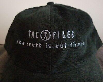 RARE! The X-Files Series Finale Crew Cap Hat Gillian Anderson David Duchovny New