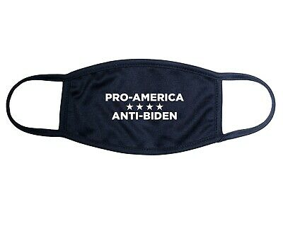 Anti-Biden Pro American Face Mask Joe Biden Kamala Harris Donald Trump