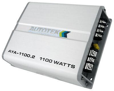 Amplificador estéreo para carro Autotek AYA-1100.2 1100w 2w