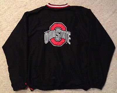 - Ohio State Buckeyes NCAA College Football Sports Pullover Jacket Adult Large