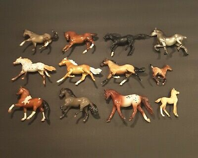Breyer Stablemate Horses And Foals Lot Of 12