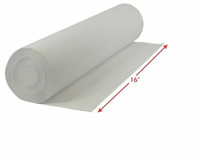 """5 Yards of BLANK ARTIST CANVAS 16"""" Wide Roll PRIMED COTTON PAINTING CLOTH"""