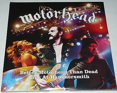 Motorhead Better Motorhead Than Dead (Live)  LP 4 X LP Fan Set REDUCED TO CLEAR