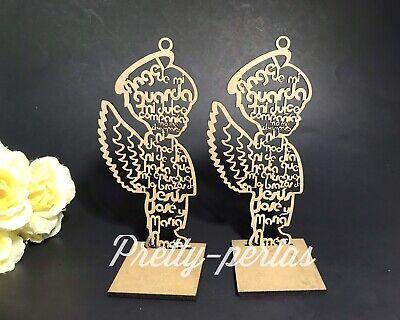 """7""""Bautizo Party Table Decorations Wood Centerpiece Favors Supplies Boy - Baptism Centerpieces"""