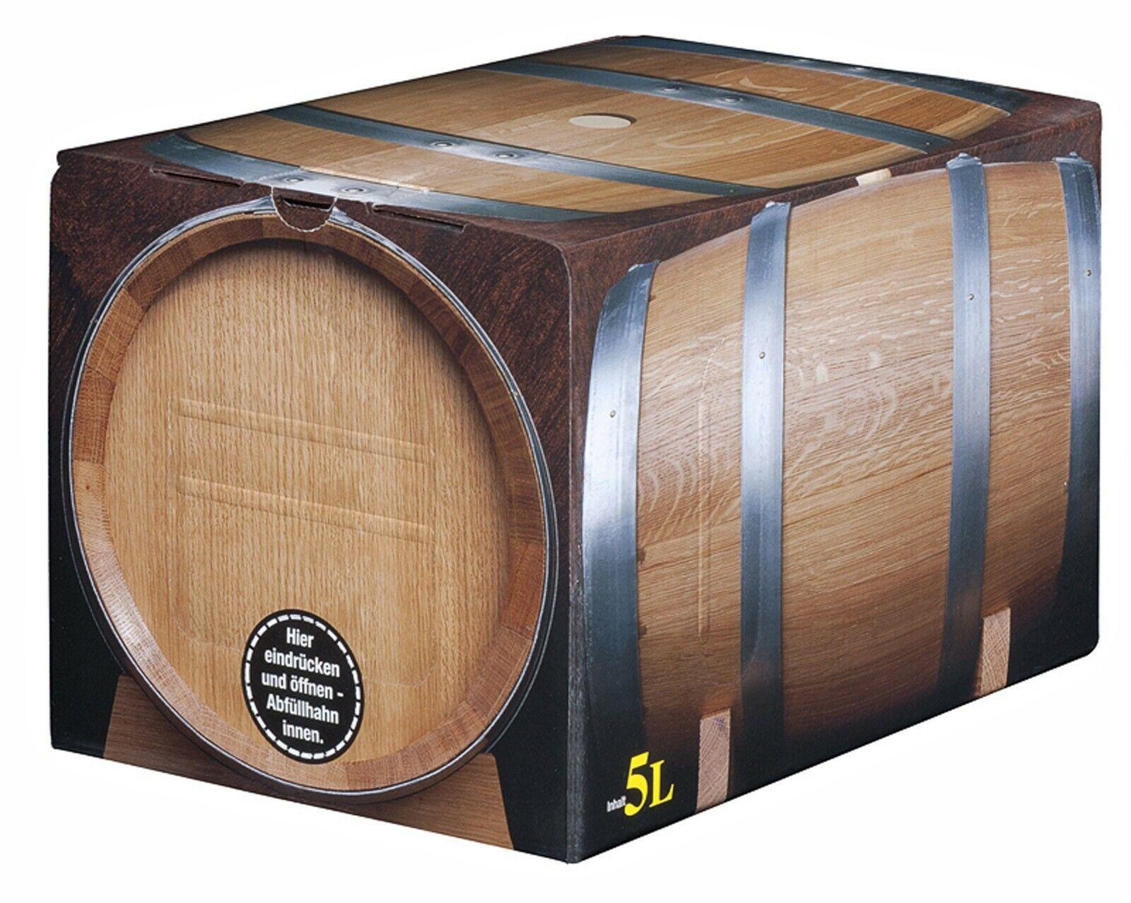 Pfälzer Dornfelder Rotwein trocken  5 x 5l Bag in Box vom Winzer