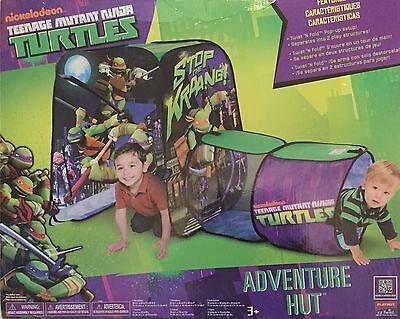 TEENAGE MUTANT NINJA TURTLES Adventure Hut Tent & - Teenage Mutant Ninja Turtles Hut