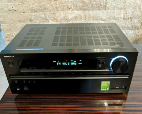 ONKYO TX-NR7277.2 CHANNEL HOME THEATER RECEIVER WITH Wi-Fi BLUETOOTH 770 WATTS