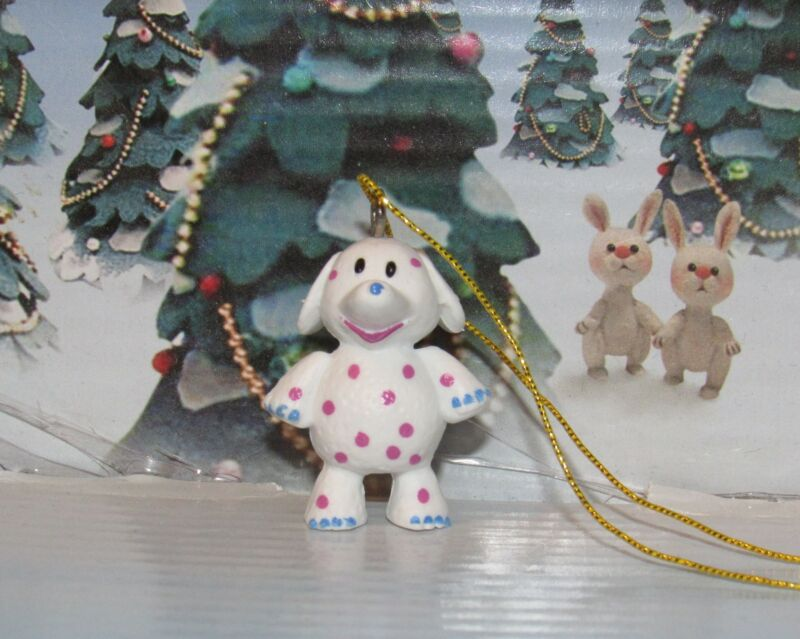 Rudolph The Red Nosed Reindeer Miniature Misfit Spoted Elephant Ornament