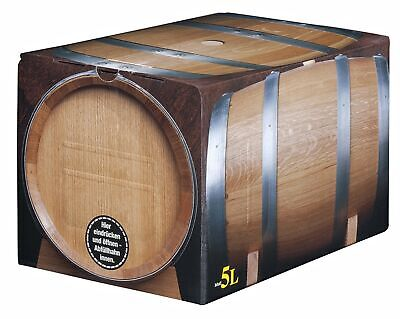 Pfälzer Weißer Burgunder Weißwein halbtrocken 5l Bag in Box vom Winzer
