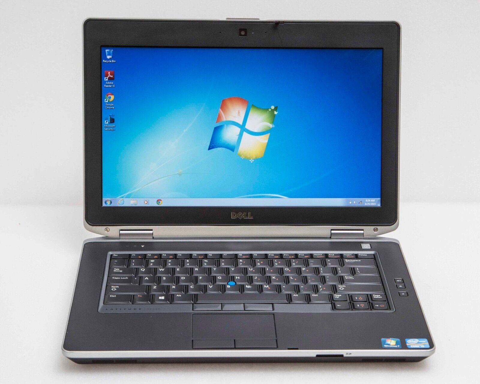 """Dell Latitude E6430s 14"""" Core i5-3320M 2.6GHz 4GB 500GB HDMI Win7 Slim Laptop"""